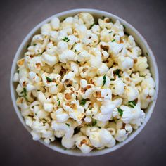 The perfect bowl of popcorn!