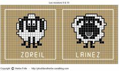 Идея для вышивки или вязания