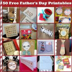 Printable Father's Day DIY Gift Ideas ** Find out more about the great product at the image link.