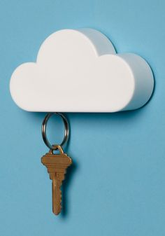 Magnetic Key Holder! I like to think of it as putting your keys in the cloud!