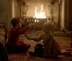 (Left Behind) The two little Princes, Charles and Henry
