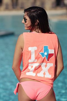 Texas Tank COMFORT COLORS!!! THESE ARE SAN MARVELOUS SHIRTS!!!! WHADDUP TXST