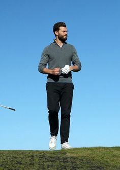 Jamie Dornan at Dunhill Links Golf Tournament 5th Oct 2016