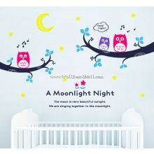Remy Moon A Moonlight Night Wall Decals