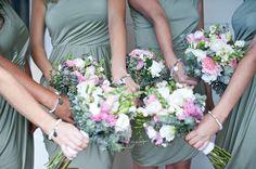 BRIDESMAID BRACELETS    a custom set created by Cassie Louise
