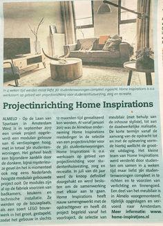 Persbericht over Home Inspirations Interieurverhuur
