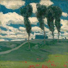 ALOIS KALVODA (1875 - 1934) Summer landscape