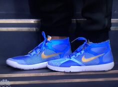 Kevin Hart Nike Trainer Hustle Harts Blue