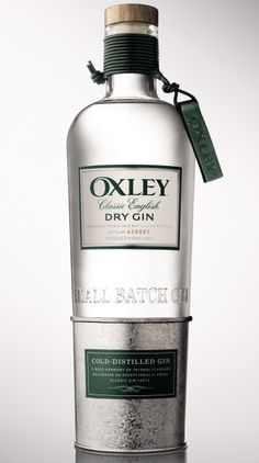 Oxley Gin - a classic English dry gin.
