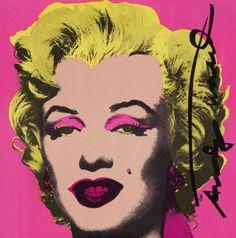 Andy Warhol - Marilyn Invitation Card