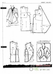 Blouse Patterns, Clothing Patterns, Sewing Patterns, Cape Pattern, Jacket Pattern, Techniques Couture, Sewing Techniques, Sewing Blouses, Modelista