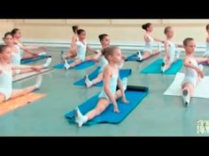 Stretching and flexibility exercises by the Vaganova Ballet Academy to help condition for class: