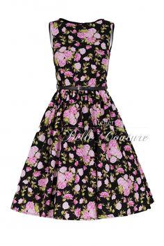 Atelier Belle Couture   Rockabilly Kleid im 50er Jahre Stil