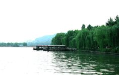 wonderful lake Hangzhou, West Lake, Heaven, China, River, Mountains, Nature, Outdoor, Outdoors