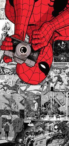 S10 plus Spider-man Wallpaper