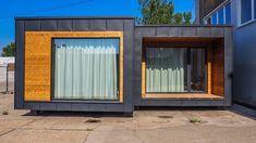 Modularný dom Bratislava Bratislava, Garage Doors, Outdoor Decor, Home Decor, Decoration Home, Room Decor, Home Interior Design, Carriage Doors, Home Decoration