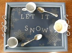 Serving Tray     http://porch.com/christinasadventures/picture-frame-tray-martha-stewart-paint/
