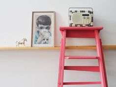 Make over an old ladder! How to mix up coral paint using Chalk Paint by Annie Sloan : Full Tutorial