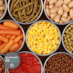 Are canned foods bad for you? Most of us have the general understanding that canned food such as fruit and vegetables is somehow less nutritious than fresh food, but few are able to tell you why. Dieta Dash, Clean Eating, Healthy Eating, Healthy Life, Healthy Food, Eat Better, Salty Foods, Nutrition, Dash Diet