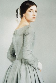 Charlotte Gainsbourg as 'Jane Eyre' in the 1996 British film Jane Eyre 1996, Jane Eyre Movie, Jane Austen, Charlotte Gainsbourg, Charlotte Bronte, Bronte Novels, North And South, Bronte Sisters, Kino Film