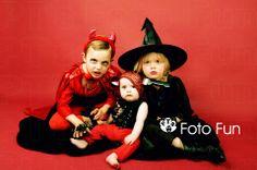 Halloween family portrait