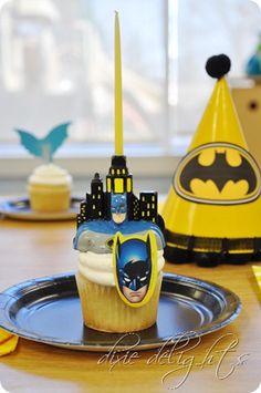 Batman bday printables