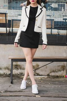 Get your favourite women's short blazers and jackets in Singapore at LuluBeMine. These short blazers and jackets can be paired with jeans and skirt or can be worn with a dress for a stylish look. Blazer And Shorts, Blazer Jacket, Cool Bomber Jackets, High Neck One Piece, Classic Trench Coat, Stylish Jackets, Blazers For Women, Jeans Fit, One Piece Swimsuit