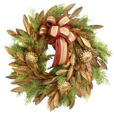 Bay Leaf & Cedar Wreath.