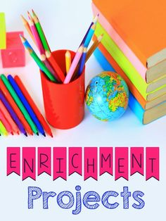 Keep all learners engaged through enrichment projects! Get ideas with this blog post!