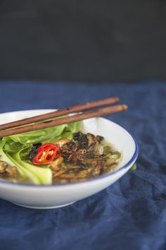Soul food doesn't have to be heavy, complicated, or meat-laden. Enjoy this beautiful pho rich in flavor but light on your digestion. It's a wonderful alternative to traditional comfort foods.