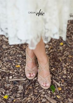 Wedding Shoes: Modern Nude Beachy Wedding Day Jimmy Choo heels // Captured by Oh, Darling via Snippet & Ink Bridesmaid Shoes, Prom Shoes, Nude Shoes, White Shoes, Nude Sandals, Louboutin Shoes, Shoes Sandals, Bridal Shoes, Wedding Shoes