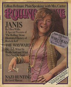 PINK & Janis Joplin - Rolling Stone. I had this copy, and it was much more pink than this picture.