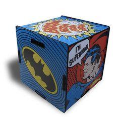Baú DC Pop