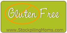 Gluten Free Restaurant Menus