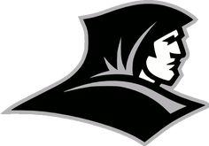 Providence Friars Alternate Logo (2000) - Friar dressed in black