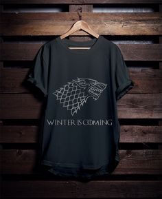 Winter Is Coming Game Of Thrones T-Shirt « DOQUZ