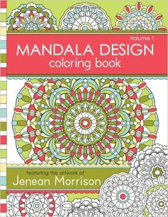 Mandala Design Coloring Book: Volume 1: Amazon.co.uk: Jenean Morrison: 9780615913650: Books