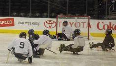 At LA Kings Hockey Fest at Staples Center in September, 2013