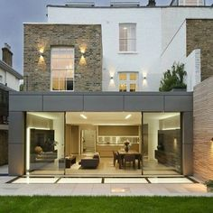 House in by - Architecture and Home Decor - Bedroom - Bathroom - Kitchen And Living Room Interior Design Decorating Ideas - Home Interior Design, Exterior Design, Room Interior, House Extension Design, Victorian Buildings, Modern Mansion, House Extensions, Classic House, Modern House Design