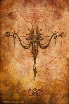 Zodiac Series by Aleks Shcherbakov, via Behance Sagittarius