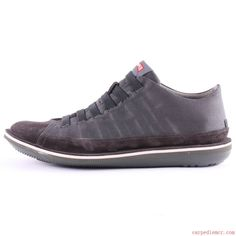 Camper Beetle 36791 Mens Trainers in Dark Grey Suede Textile 244_LRG.jpg (1000×1000)