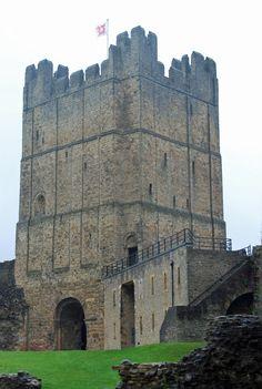 Richmond Castle, Richmond, North Yorkshire dates from William the Conqueror