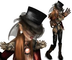 Steampunkanni_002 by Clockwork Heart