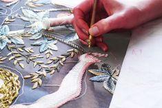 JAY STRUT: inside Chanel Couture Ateliers LESAGE & LEMARIÉ
