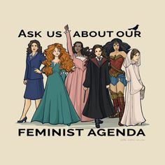 Feminist Agenda - Agent Carter, Disney, Harry Potter, DC, Comics, Star Wars