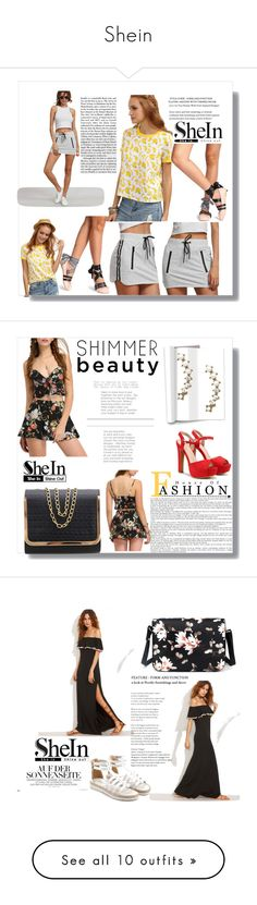 """""""Shein"""" by merima-g98 ❤ liked on Polyvore featuring Tiffany & Co., Balmain, Oris, Hedi Slimane, Whiteley and Diane James"""