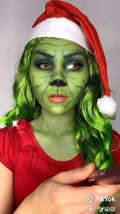 Ice Makeup, Clown Makeup, Skin Makeup, Makeup Art, Halloween Makeup, Crazy Makeup, Makeup Looks, Monster High Makeup, Christmas Makeup