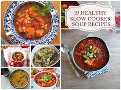 19 Healthy Slow Cooker Soup RecipesReally nice recipes. Every  Mein Blog: Alles rund um die Themen Genuss & Geschmack  Kochen Backen Braten Vorspeisen Hauptgerichte und Desserts