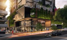 SODA Apartments, South Brisbane by Ellivo Architects