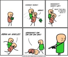 Cyanide and happiness !